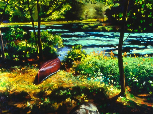 Richard's Pond - oil