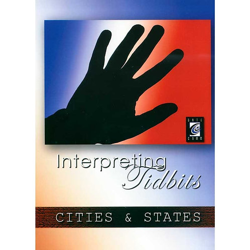 Interpreting Tidbits: CITIES & STATES
