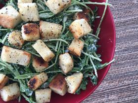shoots & croutes caesar salad