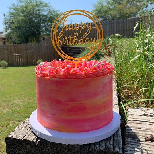 Sherbert Cake