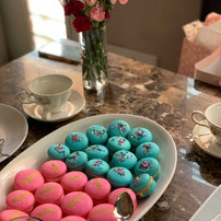 Tea Party Macarons