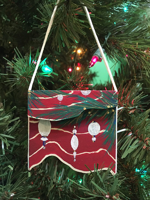 Ornaments in red