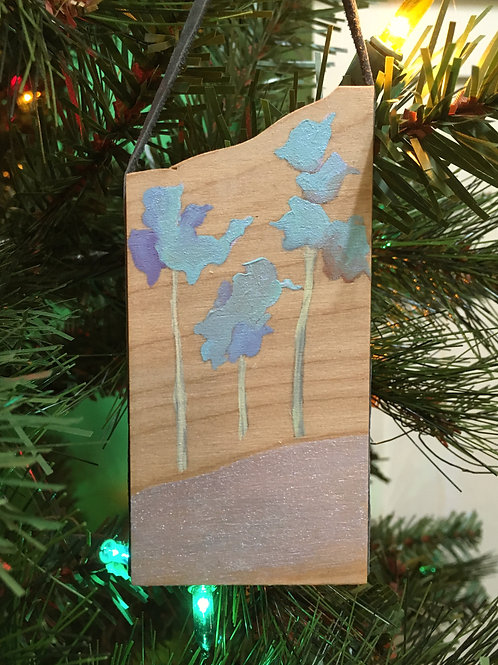 Ice Blue Treetops