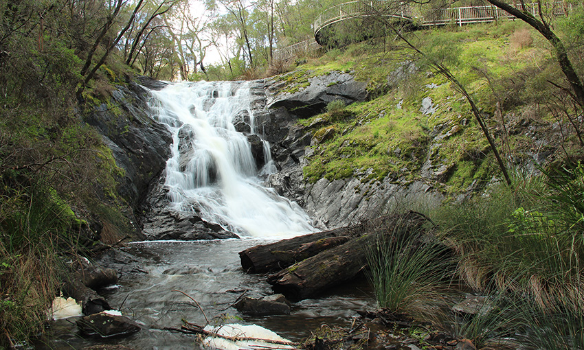 Beedelup Falls in full flow