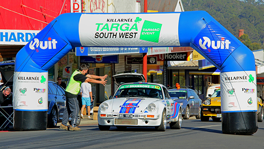 Targa Southwest Rally in May