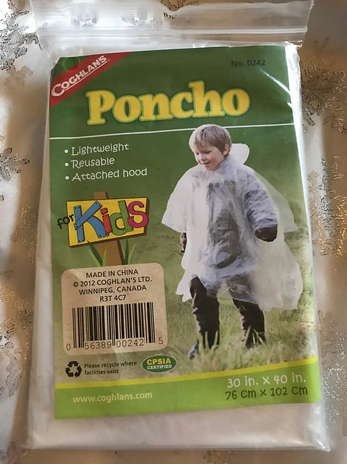 Poncho (kid size)