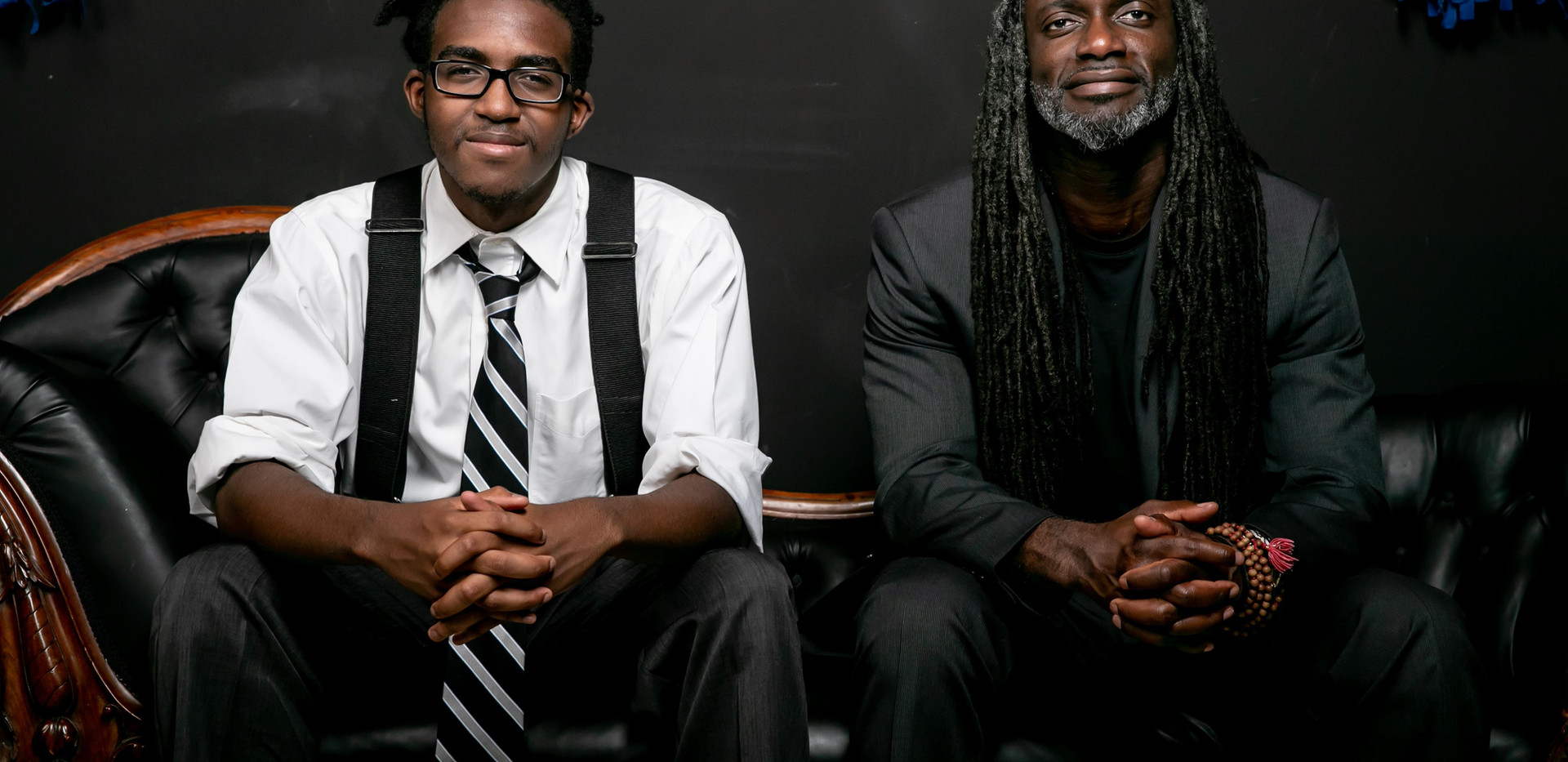 Naphtali Amen-Allah & Patrick Mugalu, photographed by Erika Schultz.