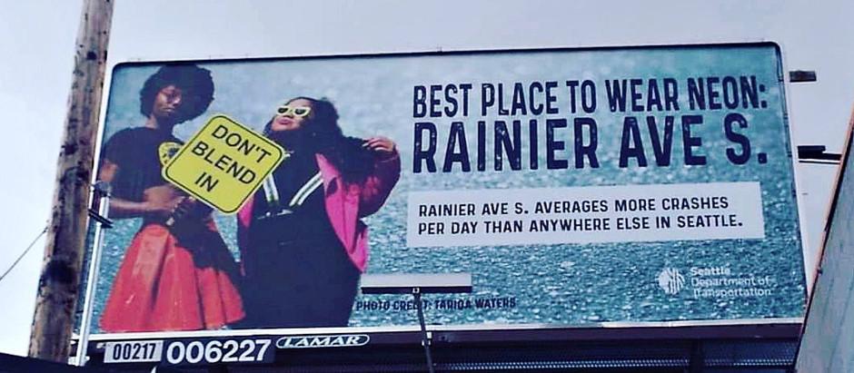 #DontBlendIn on Rainier Ave S!