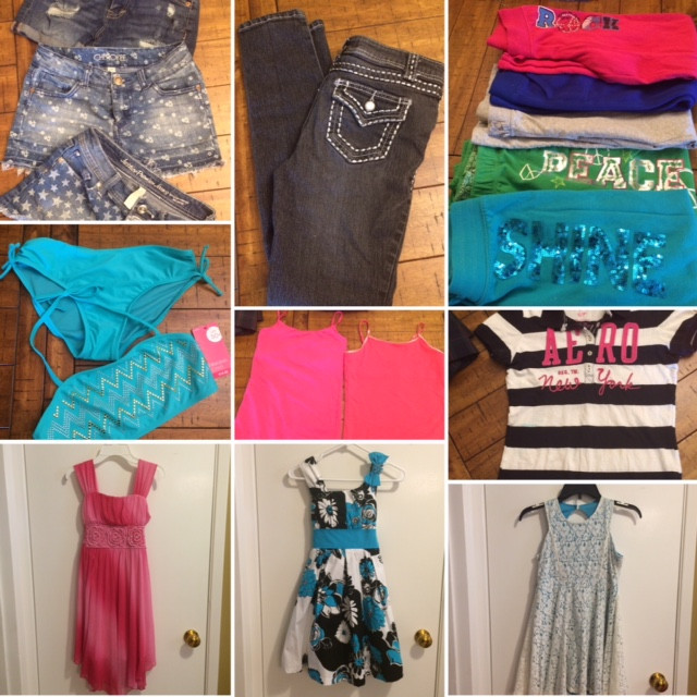 OFFERING: Back to School Clothes (Girl)