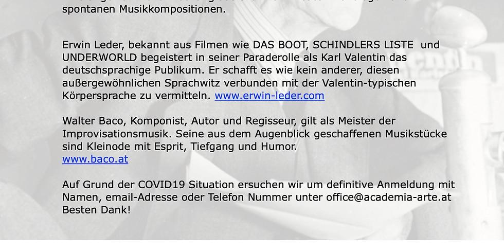 Karl Valentin in Concert