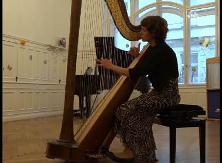 Harfe bei Academia Arte