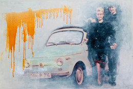 Mood of the 60's 165x110cm