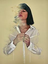 Light the Red Cigarette 75x100cm