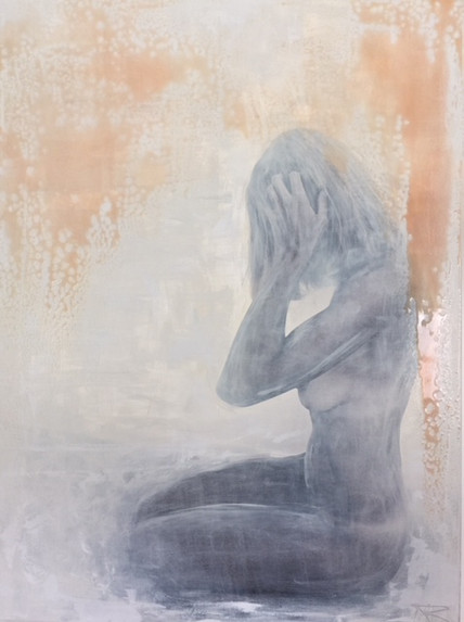 Unknown Beauty 120x160cm
