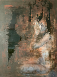 Rusted Beauty 120x160cm