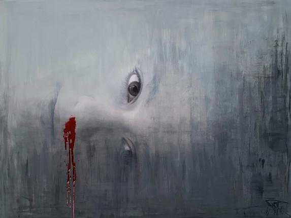 Bleeding 100x75cm