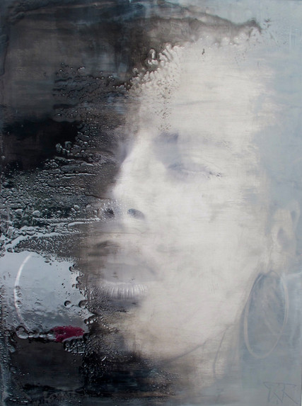It's faint, like a haze 75x100cm