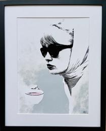 Pink Coffee 43x53cm (incl. frame)