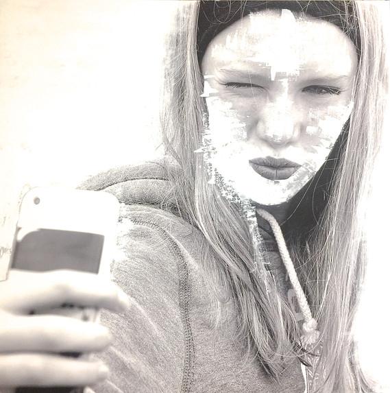 Selfie 100x100cm
