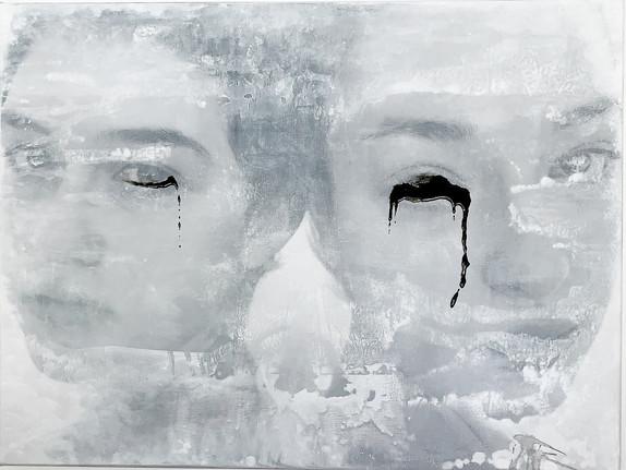 Sad Tears 100x75cm