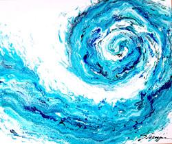 Ocean Waves 20x24
