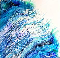 Ocean Waves 5  20x20
