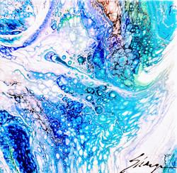 Ocean Blue 8x8
