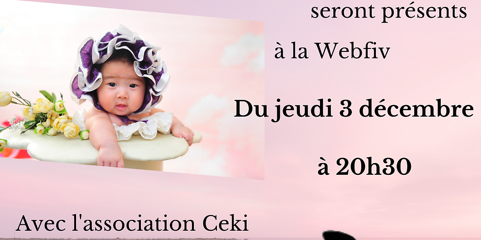 Webfiv avec la clinique Ginefiv et l'association Ceki