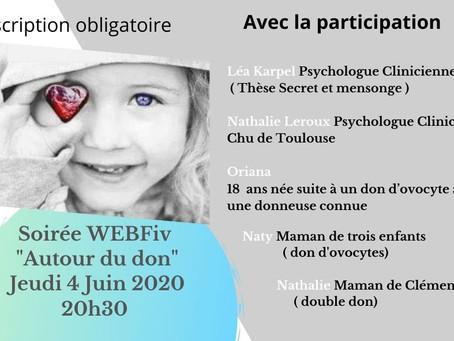 """Visio conférence """" Autour du don """""""