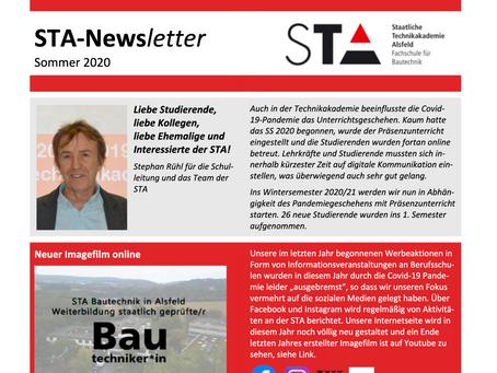 STA-Newsletter Sommer 2020