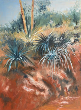 Yucca on Red Rock