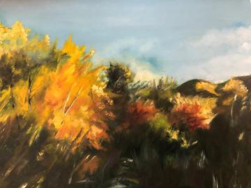 Golden Birches