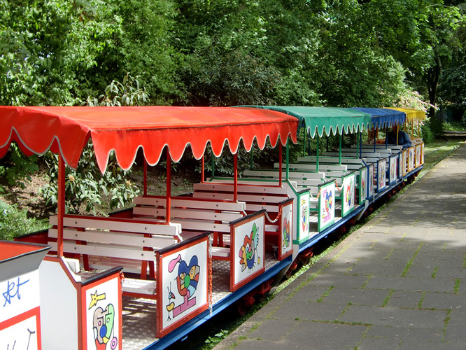 Park Miniatur-Eisenbahn