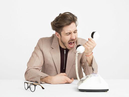 Jak správně telefonovat - Tip 3: Volání na studené kontakty vytváří na volaného tlak