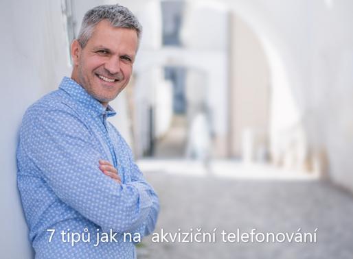 7 tipů jak na akviziční telefonování