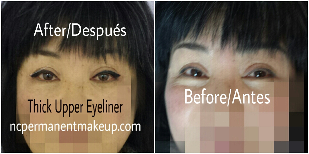 Thick Eyeliner/Delineado