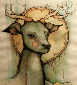 'The Autumn Elk'