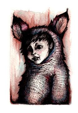 'The boy, the bear'