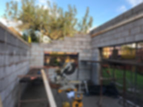 rear house extension