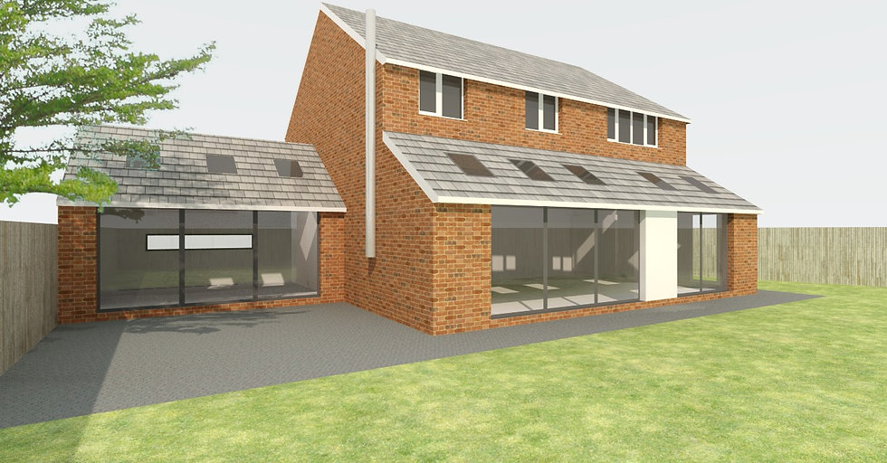 Side and Rear House Extension