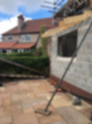 house extension blockwork