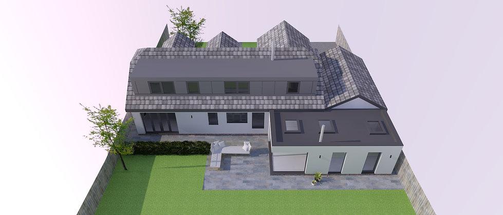 single storey bungalow