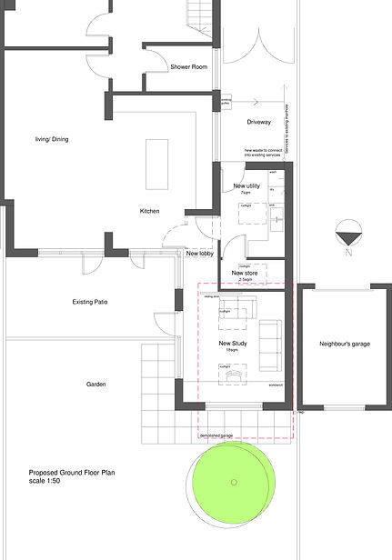 architect ground floor plan