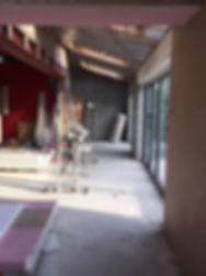 bi-folding doors and velux rooflights