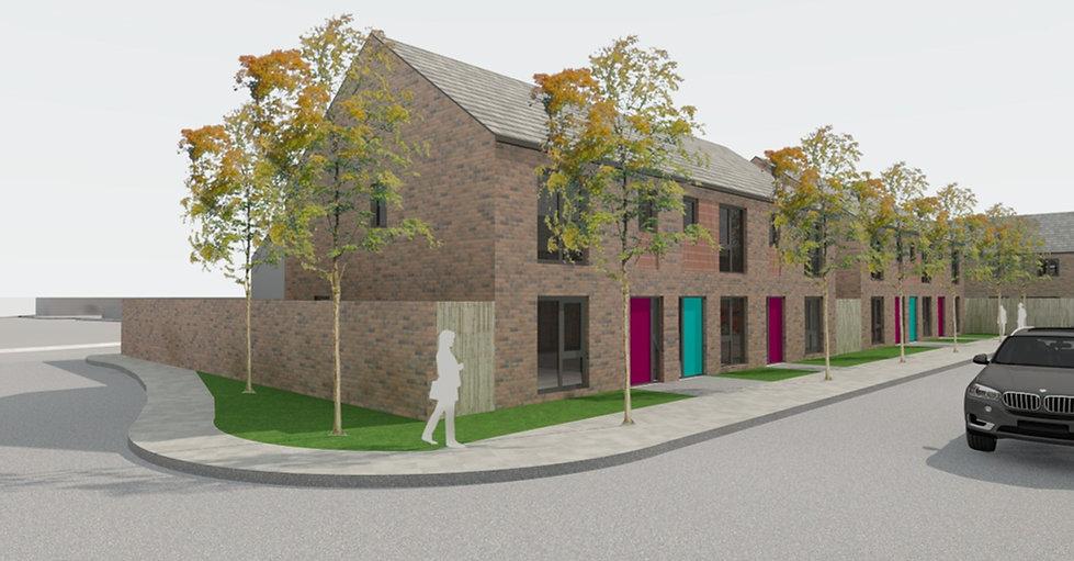 New Build Housing Development St Helens