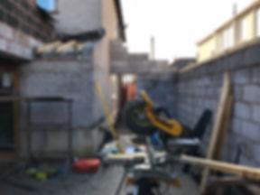 single storey house extension