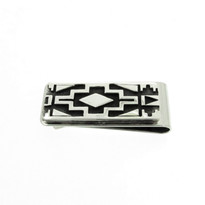 Silver Country Money Clip