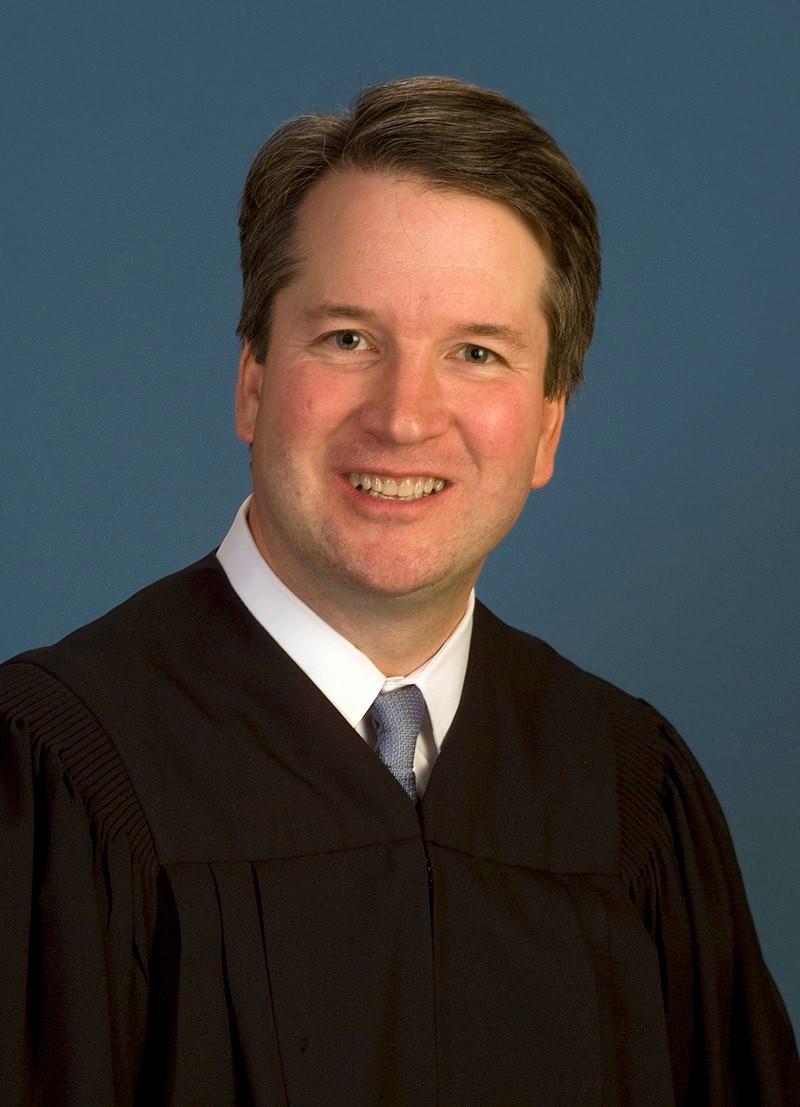Judge Bret Kavanaugh, appeals court photo in the public domain