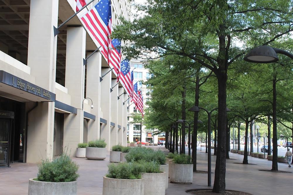 Photo by Joe Hight: FBI headquarters, Washington, DC, summer 2016