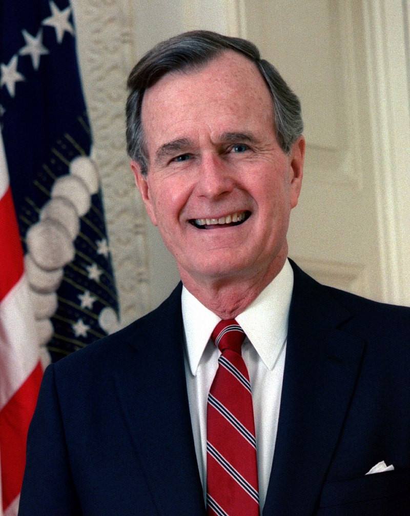 George Herbert Walker Bush 41st President of the United States